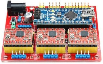 3 A4988 Arduino Compatibile Nano V3.0 Motor Driver Board CNC Shield V4.0