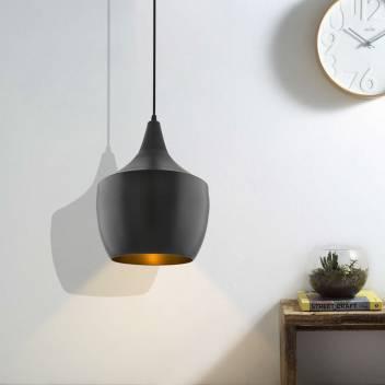 Black Metal Modern Hanging Light