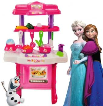 Kanha Toys Frozen Battery Operated Big Size Complete Kitchen Set For Kids Frozen Battery Operated Big Size Complete Kitchen Set For Kids Buy Frozen Toys In India Shop For Kanha