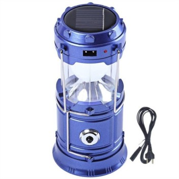 SOLAR RECHARGEABLE OUTDOOR CAMPING LANTERN LIGHT LED LAMP EMERGENCY LIGHT SMART