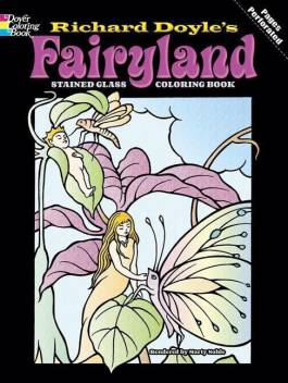 Fairyland Stained Glass Coloring Book Buy Fairyland Stained Glass Coloring Book By Doyle Richard At Low Price In India Flipkart Com