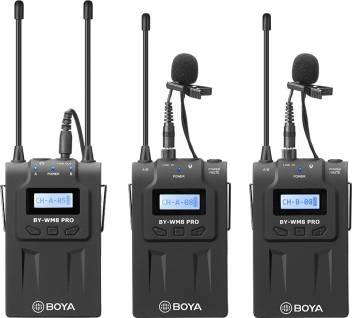 Boya By Wm8 Pro K2 Uhf Dual Channel Wireless Camera Microphone