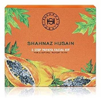 Shahnaz Husain 5 Step Papaya Facial Kit (Pack Of 2) 100  (Set of 2)