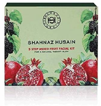 Shahnaz Husain 5 Step Mixed Fruit Facial Kit (Pack Of 2) 100  (Set of 2)