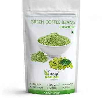 Holy Natural Green Coffee Beans Powder For Weight Management 200