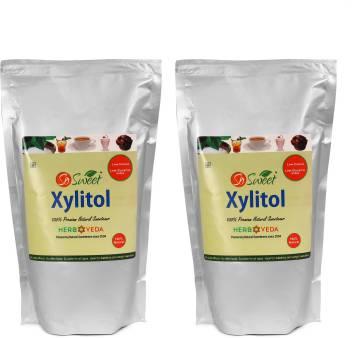 So Sweet 100 Natural Sweetener 1 Kg Xylitol Sugarfree Pack Of