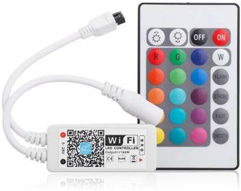 info for 22933 2fd4c PROTIUM WiFi Smart LED Strip Controller, Convert Any RGB LED Strip into  Smart WiFi Enabled Strip_ RGB Option (Work with Alexa and Google ...