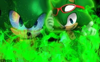 Sonic The Hedgehog Scourge The Hedgehog Frameless Fine Quality
