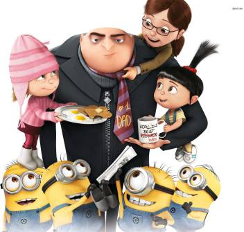 Movie Despicable Me 2 Despicable Me Margo Edith Agnes Gru Hd Wall Poster Paper Print Movies Posters In India Buy Art Film Design Movie Music Nature And Educational Paintings Wallpapers At