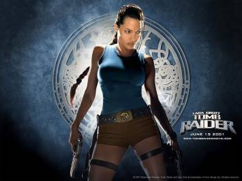 Movie Lara Croft Tomb Raider Tomb Raider Angelina Jolie Hd Wall