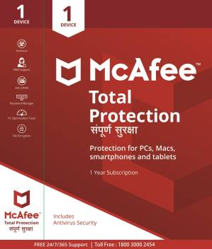 McAfee Total Security 1 User 1 Year