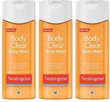 Neutrogena Body Clear Acne Body Wash With Glycerin Salicylic