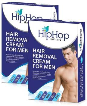 Hip Hop Hair Removal Cream For Men 100g Pack Of 2 Cream Price