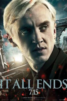 NEW IT ALL ENDS HARRY POTTER AND THE DEATHLY HALLOWS MOVIE PRINT PREMIUM POSTER