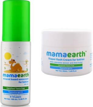 Mamaearth Mineral Based Sunscreen (100