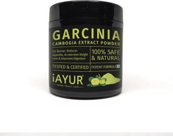 Iayur Garcinia Cambogia 60 Hca Extract Powder 100 Gms Potent