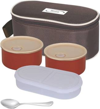 Stainless Steel Lunch Box With Roti
