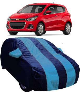 Drize Car Cover For Chevrolet Spark With Mirror Pockets Price In India Buy Drize Car Cover For Chevrolet Spark With Mirror Pockets Online At Flipkart Com