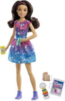 NEW Barbie Skipper Babysitter Doll Denim Look Skirt Clothing Also Fits Barbie