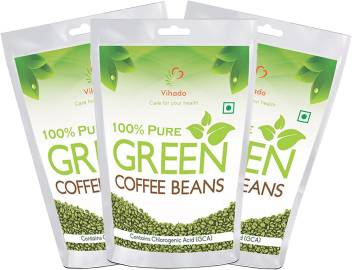 Vihado Best Quality Weight Management Green Coffee Beans Pack Of