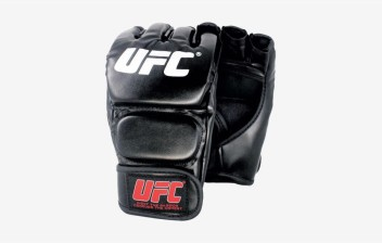 Black Fighting MMA Boxing Sports Leather Gloves Tiger Muay Thai Fight Box New
