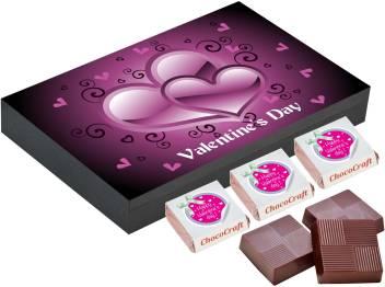 Chococraft Valentine S Day Gift Birthday Gift Ideas For Women 12 Chocolate Box Truffles Price In India Buy Chococraft Valentine S Day Gift Birthday Gift Ideas For Women 12