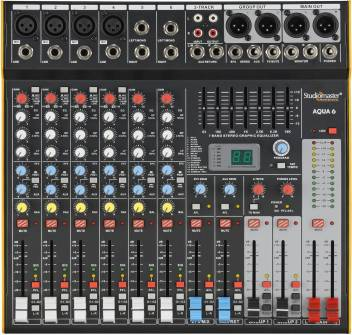 Studiomaster Aqua 6 with stereo graphic Equalizer Digital