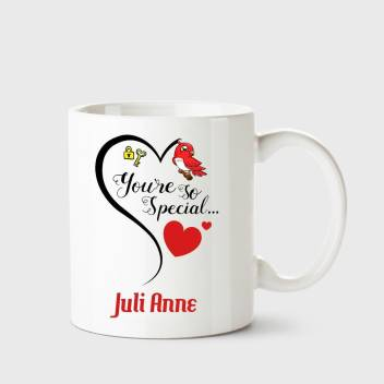 Chanakya You Re So Special Juli Anne White Coffee Name Ceramic Ceramic Coffee Mug Price In India Buy Chanakya You Re So Special Juli Anne White Coffee Name Ceramic Ceramic Coffee Mug Online