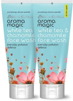 Aroma Magic Pack of 2 White Tea & Chamomile (100 ml) Face Wash  (100 ml)