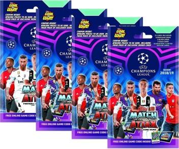 Verzamelingen Niet-sportkaarten Topps Match Attax UEFA Champions League 2018/19 Trading Cards 5 Packs Multipack
