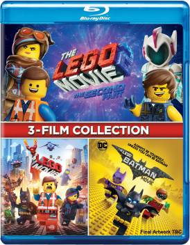 The Lego 3 Movies Collection The Lego Movie The Lego Movie 2 The Second Part The Lego Batman Movie 3 Disc Price In India Buy The Lego 3 Movies Collection