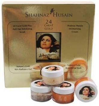 Shahnaz Husain gold facial kit 40 g (Set of 4) 40 g  (Set of 4)