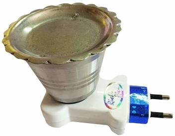 NP Electric Kapoor Dani Steel Dhoop Dani Incense Burner for Puja & Staying  Healthy Keeping Away Mosquitoes Steel Table Diya