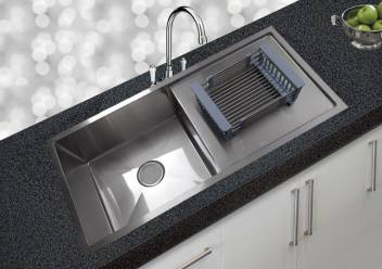 Jns Jns Kitchen Sink 37x18x10 Drainboard Reputed 37x18x10