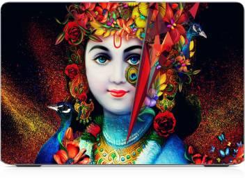 colourful krishna wallpaper exclusive high quality laptop decal original imaf3s8fffunjuzy