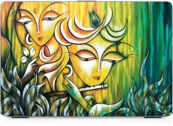 radha krishna art wallpaper exclusive high quality laptop decal original imaf3s48mgpykrfa