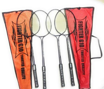 Fighter 4 Player Set Badminton Racket