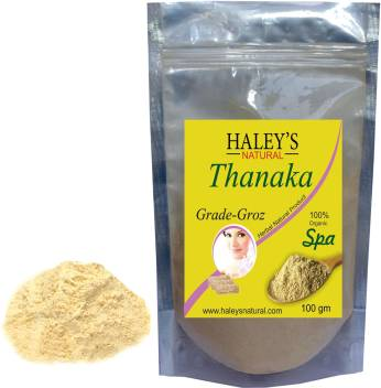 Haley S Natural Thanaka Powder Grade Groz For Permanent Hair