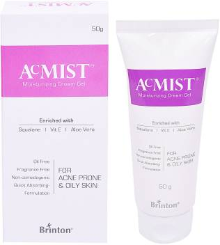 Brinton Acmist Moisturizing Cream Gel For Acne Prone Oily Skin