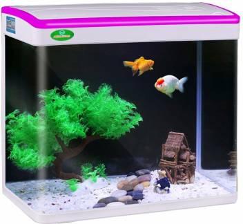 Foodie Puppies Mini Fish Aquarium Tank Mj 360 Capacity 22l Rectangle Aquarium Tank Price In India Buy Foodie Puppies Mini Fish Aquarium Tank Mj 360 Capacity 22l Rectangle Aquarium Tank Online At Flipkart Com