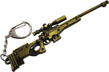 One Wish Pubg AWM Sniper With 8X Key Chain