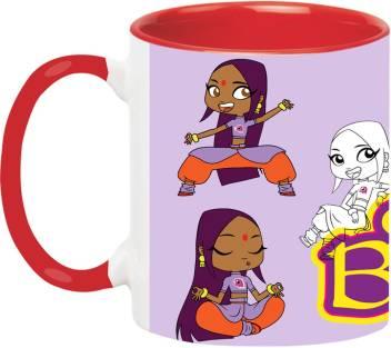 Artbug Sally Bollywood Cartoon 2151 Red Ceramic Mug Price In India Buy Artbug Sally Bollywood Cartoon 2151 Red Ceramic Mug Online At Flipkart Com
