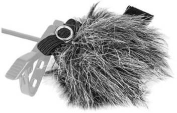 Boya By B05 Fur Windshield For Lavalier Microphones 3 Pcs Grey