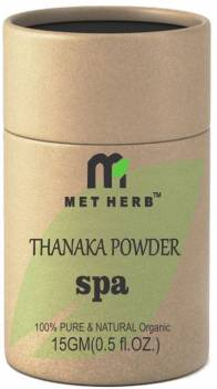 Metherb Thanaka Bark Powder For Permanent Hair Removal Cream