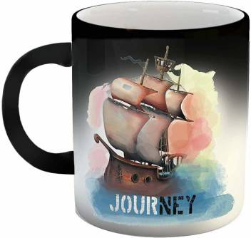 Ikraft Color Changing Magic Coffeemug Journey Quotes Printed Milkmug Ceramic Coffee Mug Price In India Buy Ikraft Color Changing Magic Coffeemug Journey Quotes Printed Milkmug Ceramic Coffee Mug Online At Flipkart Com