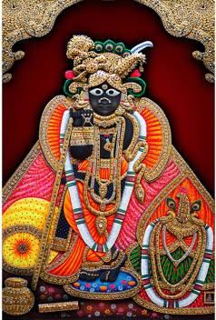 medium pnf 12x18 20573 poster n frame banke bihari lord krishna original imaffmc72hajg6bu