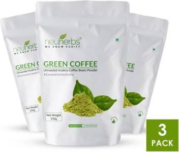 Neuherbs 100 Organic Green Coffee Beans Powder For Weight Loss