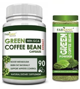 Farganic Garcinia Cambogia 90 Capsule With Green Coffee Beans