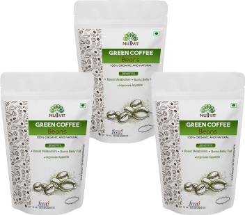 Nutvit Best Quality 100 Natural Green Coffee Beans For Weight