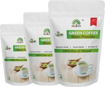 Nutvit Pure Arabica Green Coffee Beans Powder Instant Coffee Price